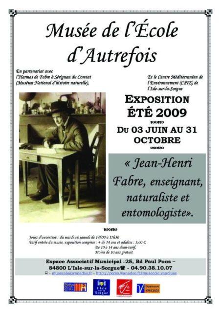 Été 209 - exposition : Jean-Henri Fabre