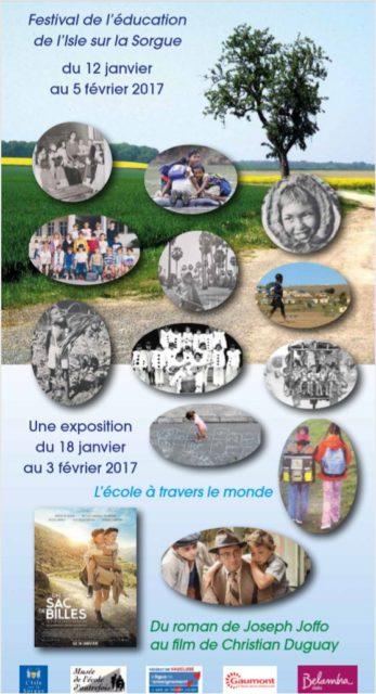 12 janvier-7 février 2017 - Festival de l'éducation...