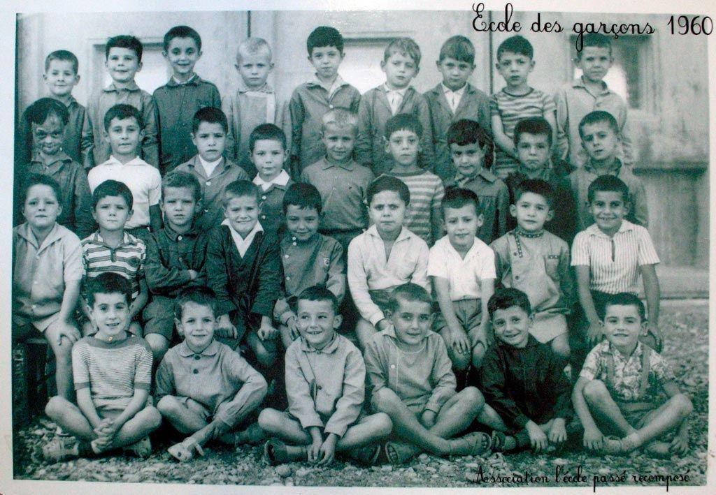 Ecole communale des garçons 1960