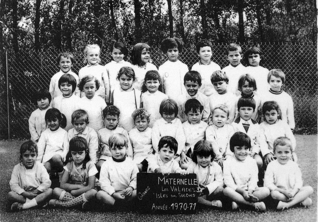1970-71 Maternelle Les Valades