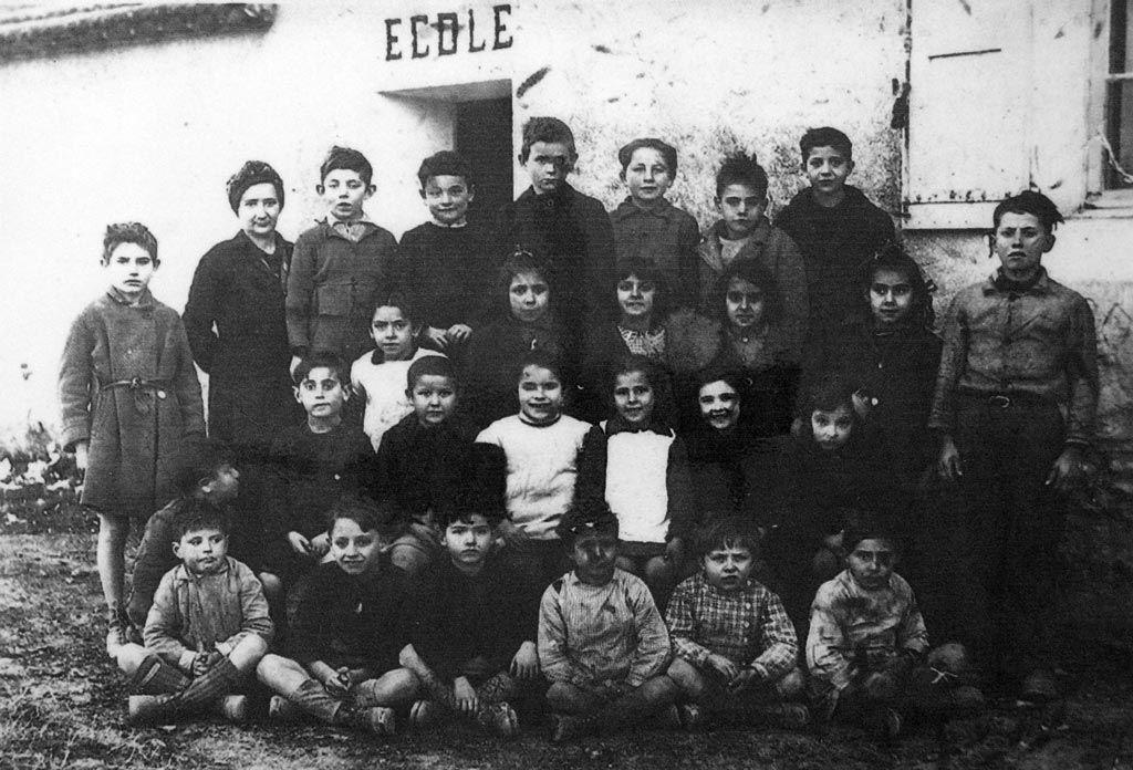 1945 classe de Mme Tessier Ecole de Saint Antoine