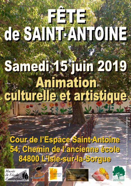 15 juin 2019 - Fête à l'espace Saitn-Antoine...