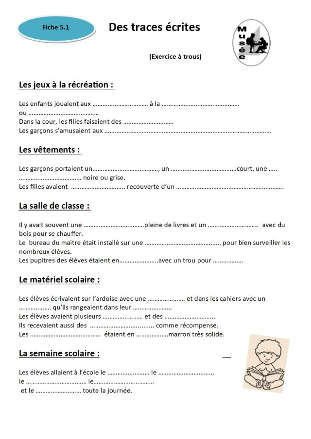 fiche 5.1 Exercice -