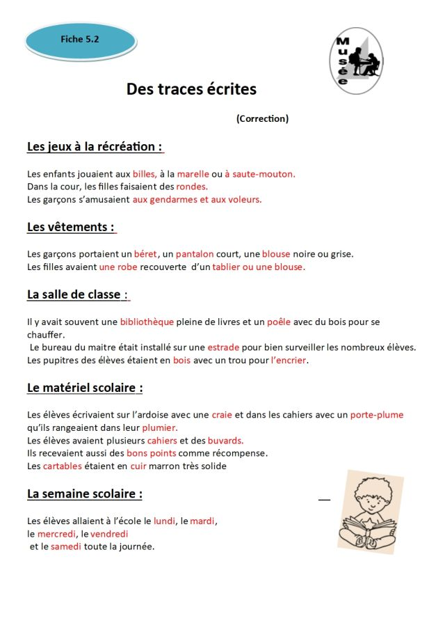 fiche 5.2 Correction -