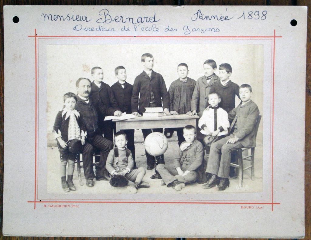 1886 Ecole de garçons L'Isle-sur-la-Sorgue