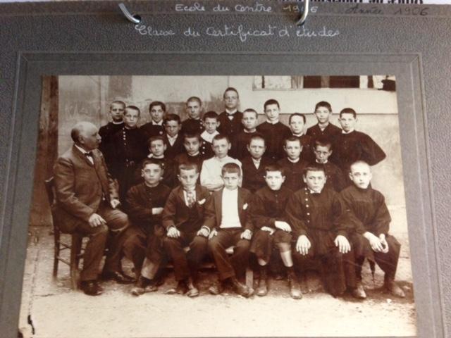 1906 Ecole de garcons classe CEP