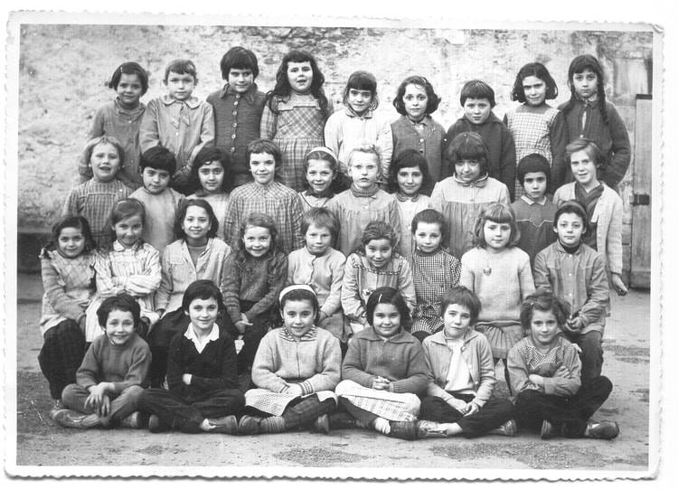1960  -Ecole des filles Rose Goudard