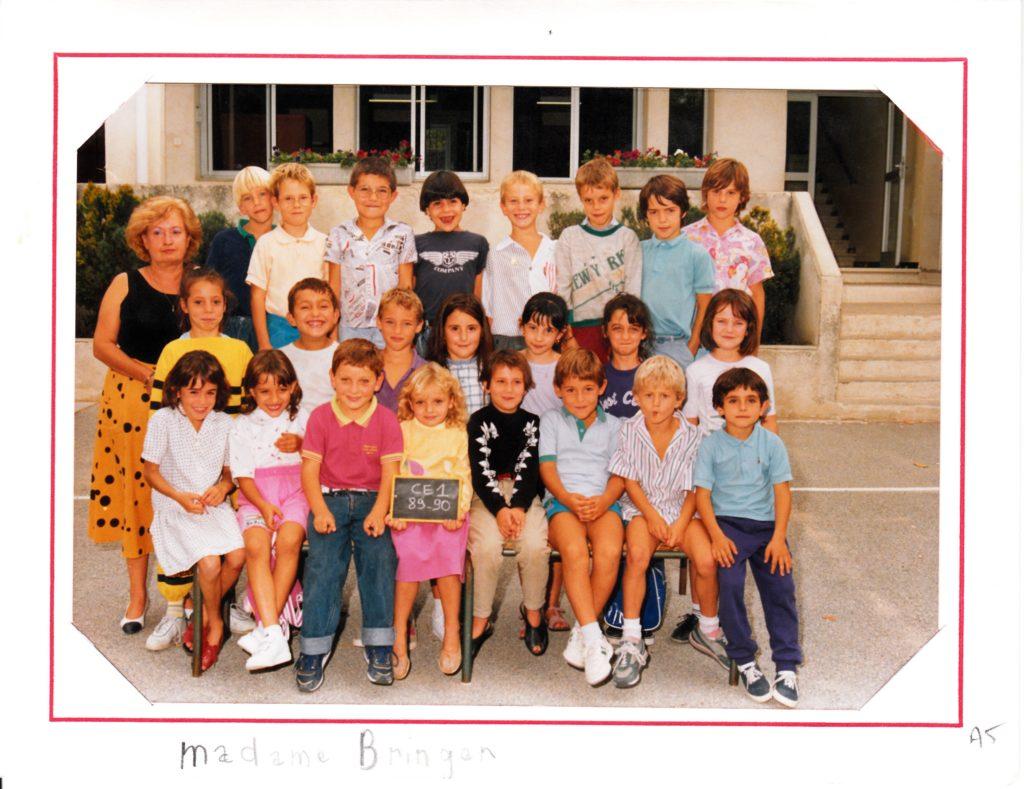 1989-90 Ecole de Saint-Antoine CE1