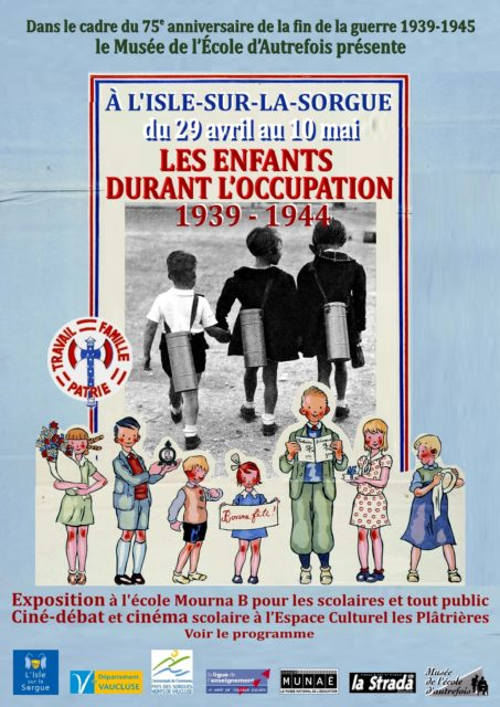29 avril-10 mai 2020 - Les enfants durant l'occupation