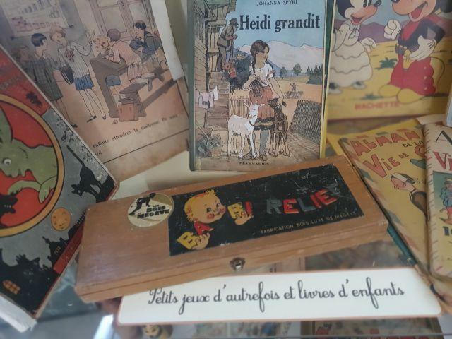 Jeux et livres d'enfants