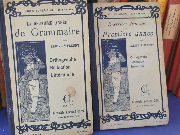 Manuels de grammaire Armand Colin
