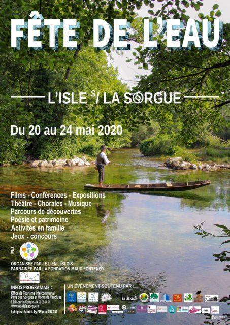 20-24 mai 2020 : Fête de l'Eau organisée par Le Lien L'Islois, Collectif dont fait partie le Musée de l'École d'autrefois,...