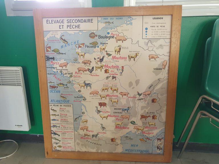 Planche Rossignol : Carte de France
